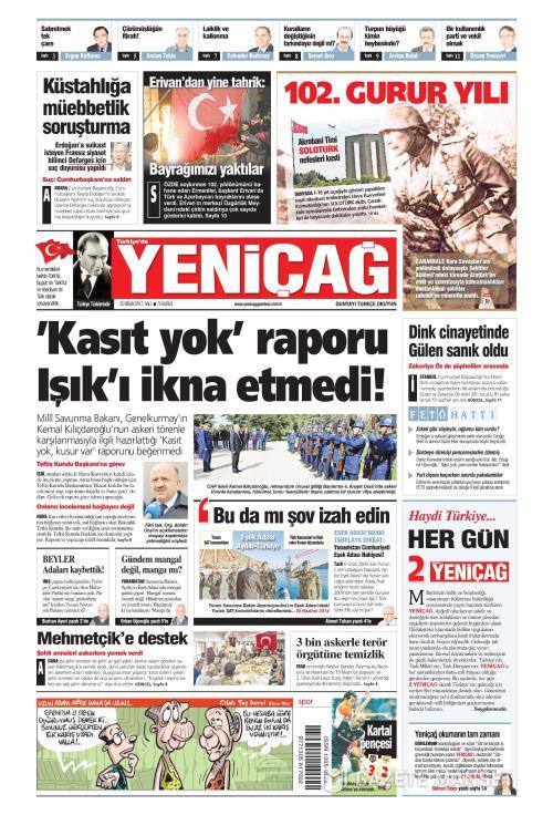 Türkiye'de Yeni Çağ - 25 Nisan 2017
