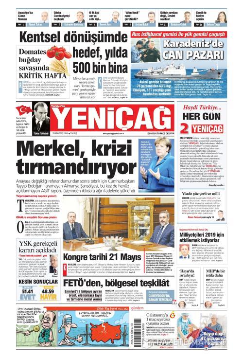 Türkiye'de Yeni Çağ - 28 Nisan 2017