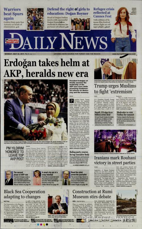 HÜRRİYET DAİLY NEWS - 22 Mayıs 2017