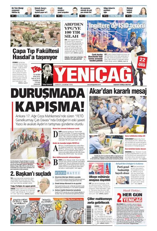Türkiye'de Yeni Çağ - 24 Mayıs 2017