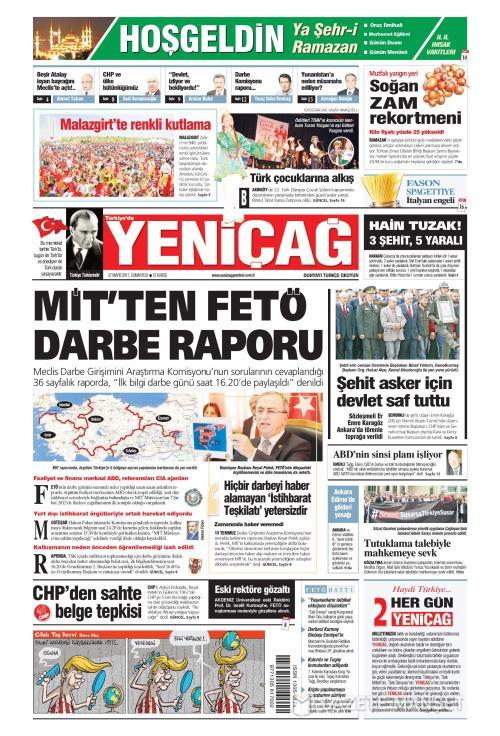 Türkiye'de Yeni Çağ - 27 Mayıs 2017