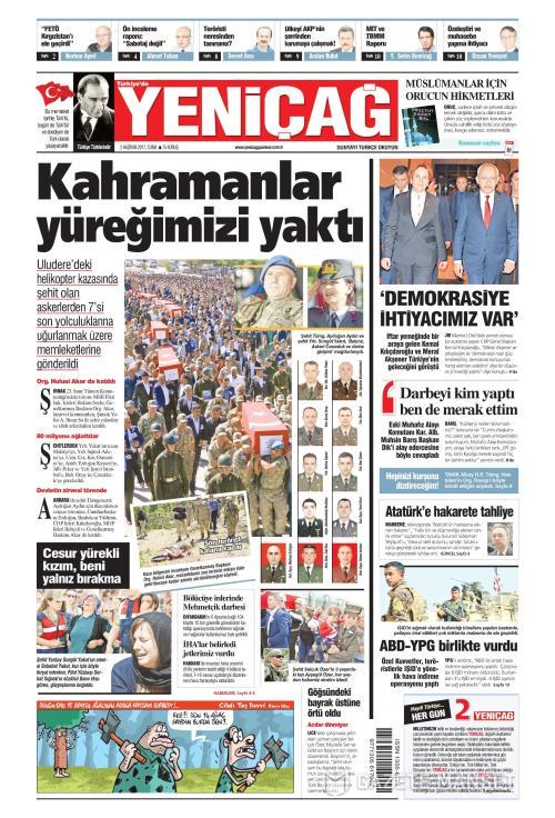 Türkiye'de Yeni Çağ - 02 Haziran 2017