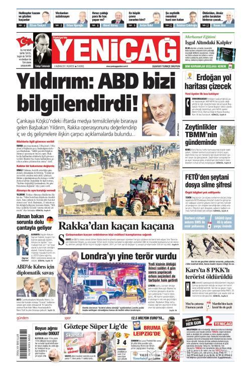 Türkiye'de Yeni Çağ - 05 Haziran 2017