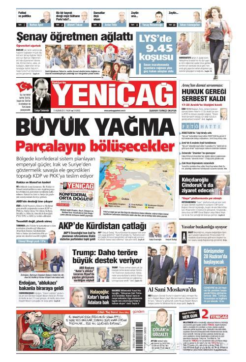 Türkiye'de Yeni Çağ - 11 Haziran 2017