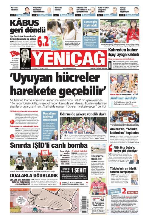 Türkiye'de Yeni Çağ - 13 Haziran 2017