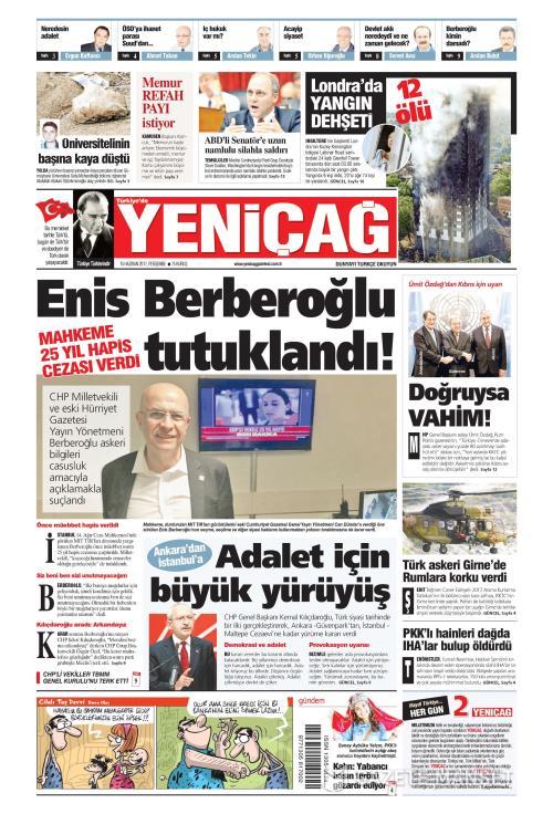 Türkiye'de Yeni Çağ - 15 Haziran 2017