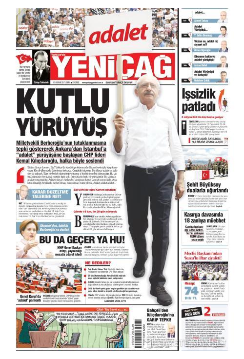 Türkiye'de Yeni Çağ - 16 Haziran 2017