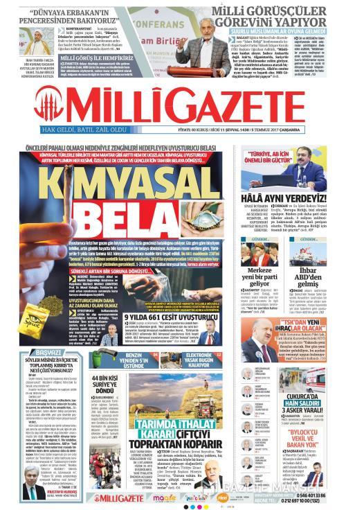 MİLLİ GAZETE - 05 Temmuz 2017