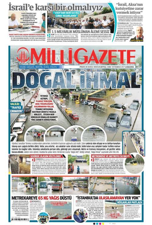 MİLLİ GAZETE - 19 Temmuz 2017