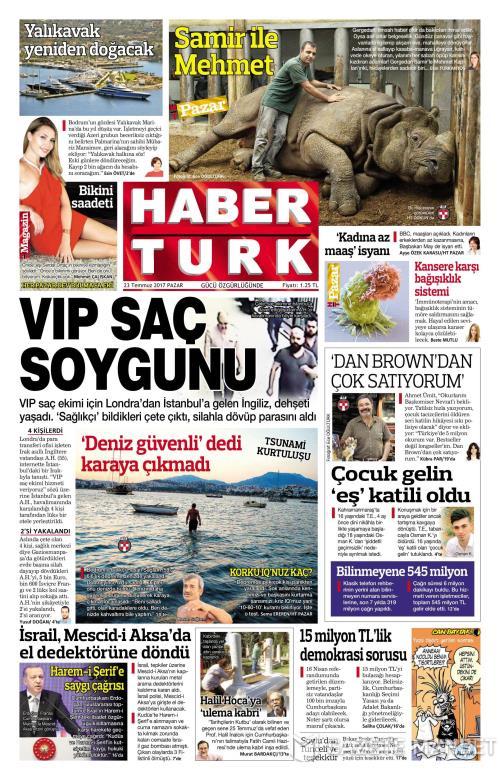 HABERTÜRK - 23 Temmuz 2017