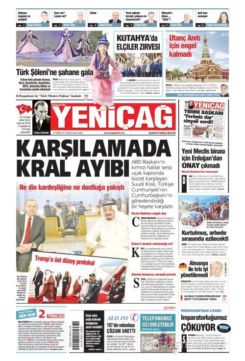 Türkiye'de Yeni Çağ - 24 Temmuz 2017