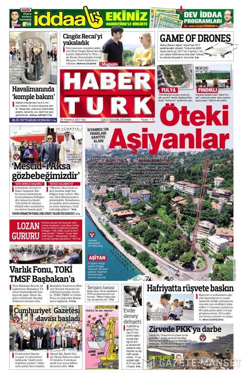 HABERTÜRK - 25 Temmuz 2017