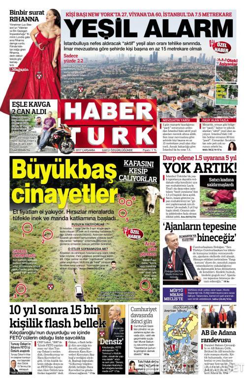 HABERTÜRK - 26 Temmuz 2017