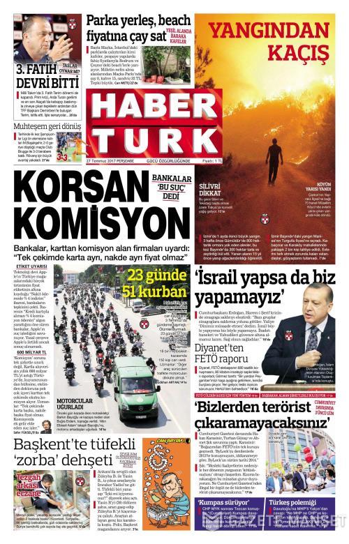 HABERTÜRK - 27 Temmuz 2017