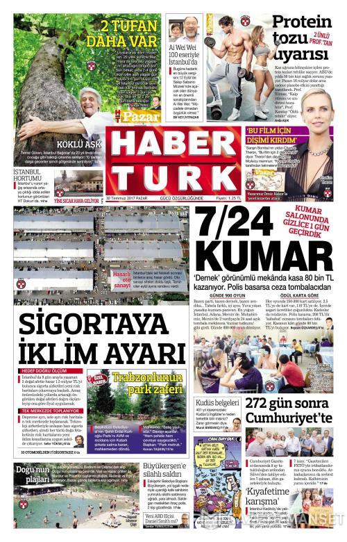 HABERTÜRK - 30 Temmuz 2017