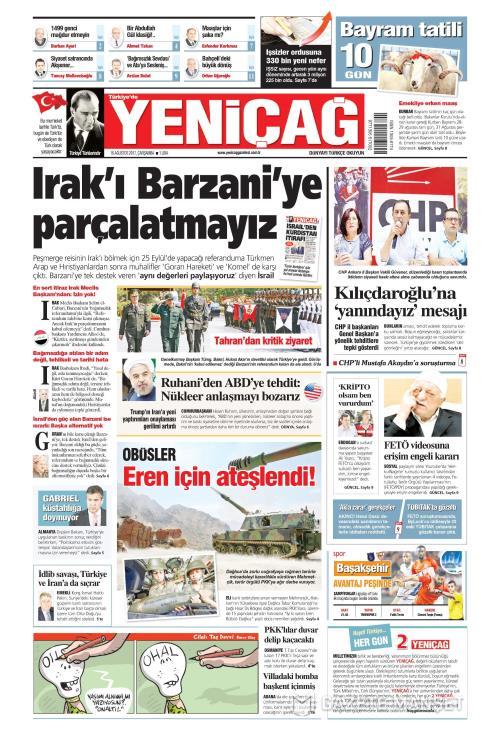 Türkiye'de Yeni Çağ - 16 Ağustos 2017