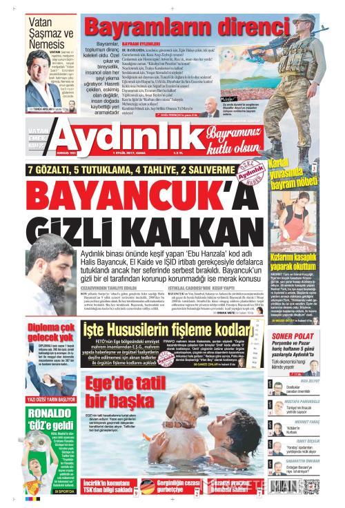 AYDINLIK - 01 Eylül 2017