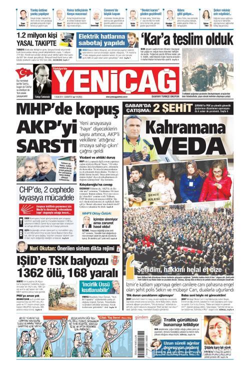 Türkiye'de Yeni Çağ - 07 Ocak 2017