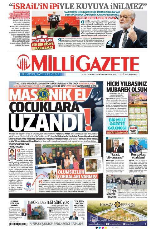 MİLLİ GAZETE - 21 Eylül 2017