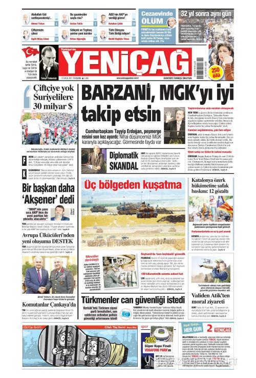 Türkiye'de Yeni Çağ - 21 Eylül 2017
