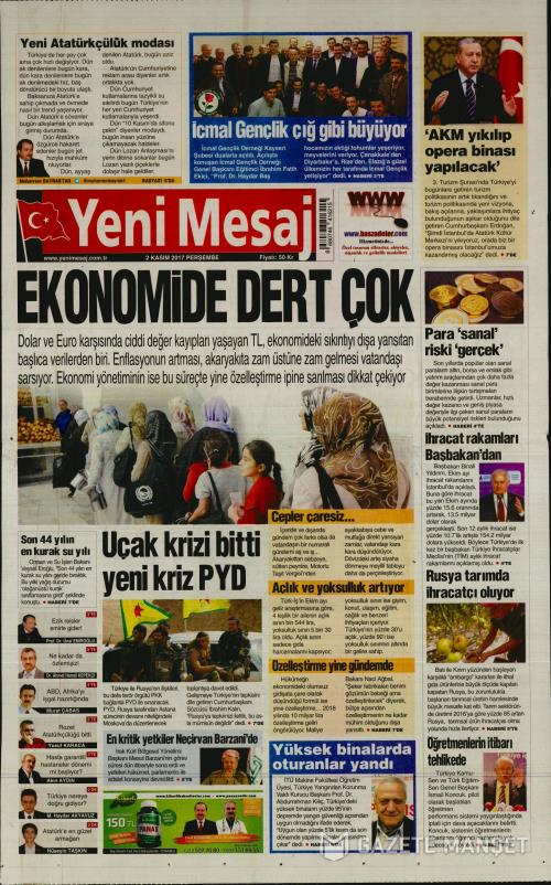 YENİ MESAJ - 02 Kasım 2017