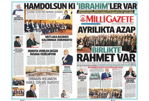MİLLİ GAZETE - 15 Kasım 2017