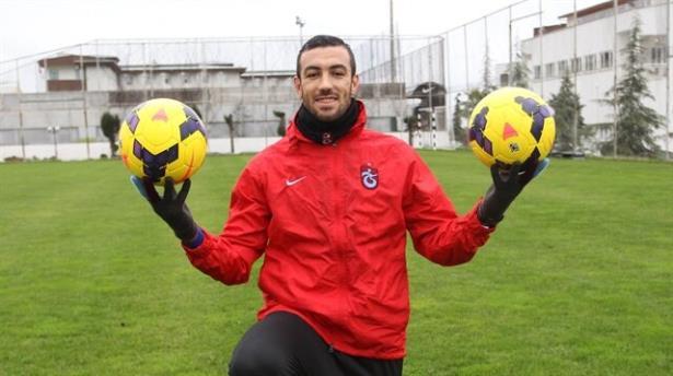 Belkalem Trabzon da çok mutlu