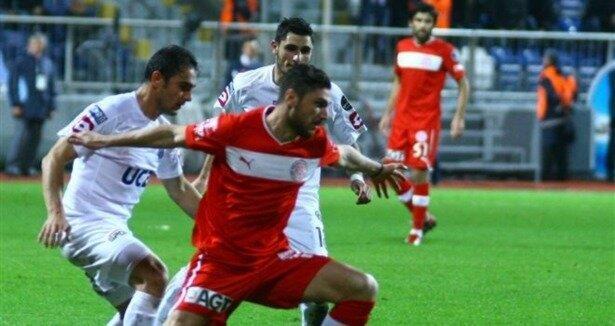 Kasımpaşa: 1  - MP Antalyaspor: 1 (Maç özeti)