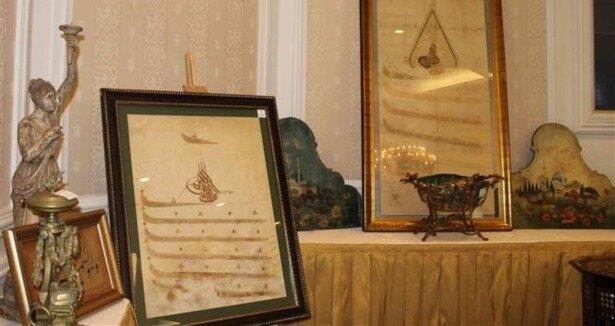 Osmanlı padişahlarının eşyaları satılıyor