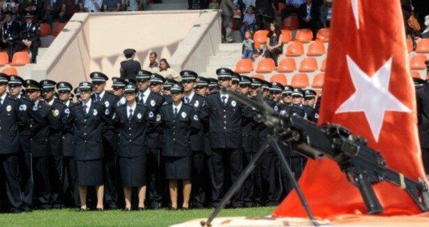 Polislikte  boy  kısaldı
