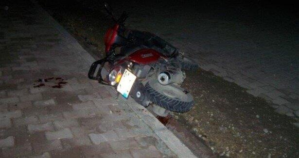 Adıyaman da motosiklet kazası