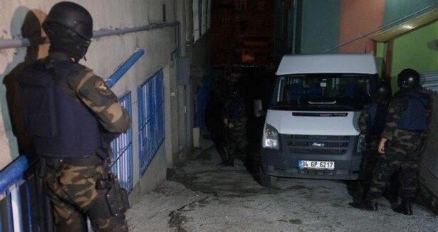 İstanbul da helikopterli narkotik baskını