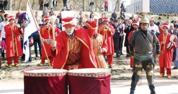 Mehter takımından  Erdoğan  bestesi