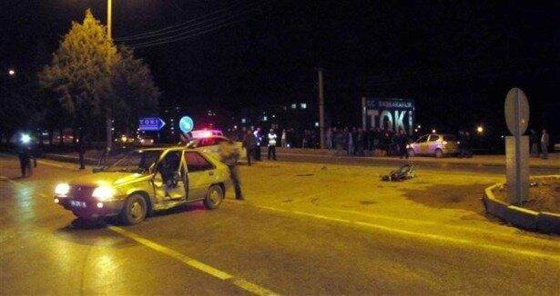 Burdur da trafik kazası: 1 ölü