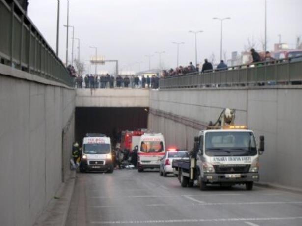 Ankara da gizli buzlanma kazaları