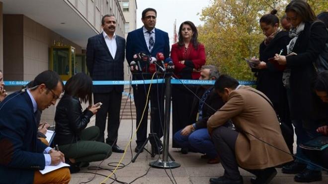 HDP den görüşme sonrası ilk açıklama