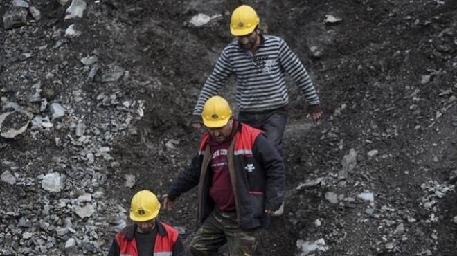Ermenek te kömür ocağında işçilerin mahsur kalması