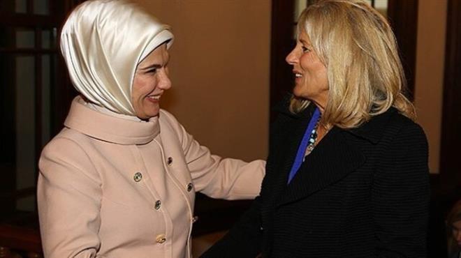 Jill Biden: Yeni Türkiye den memnunum
