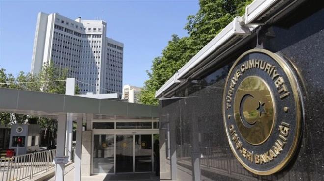 Dışişleri Bakanlığı saldırıyı kınadı
