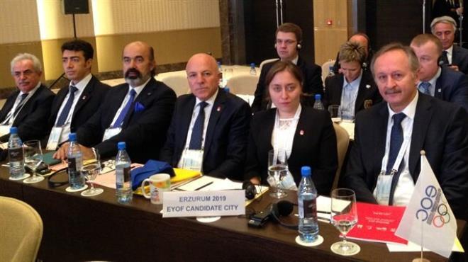 EYOF 2019 Erzurum da