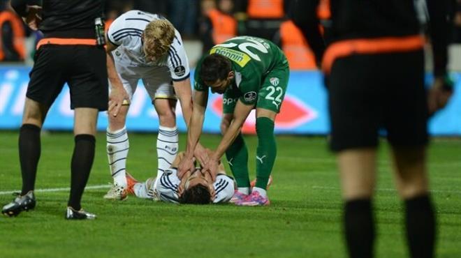 Fenerbahçe de sakatlık şoku