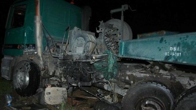 Midibüs ile TIR çarpıştı: 10 yaralı