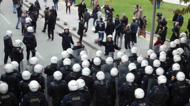 Kentsel dönüşüm protestosunda 7 gözaltı