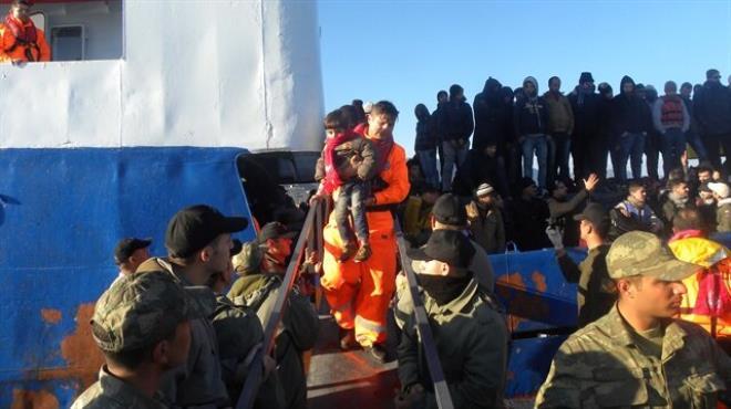 235 Suriyeli böyle kurtarıldı