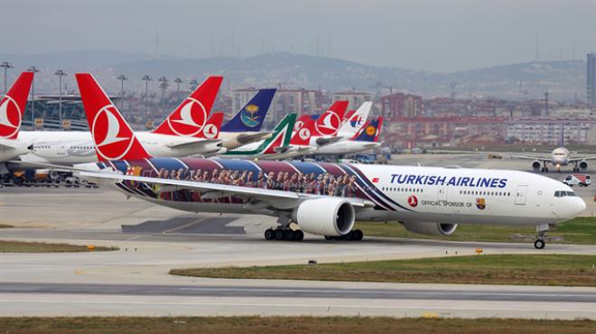 Türkiye de 22 saniyede 1 uçak kalkıyor