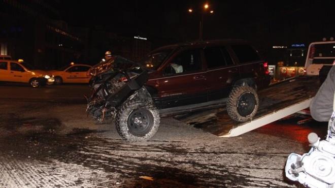 Ankara da trafik kazası: 1 ölü