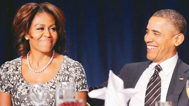 Koca Obama'yı garson sandılar