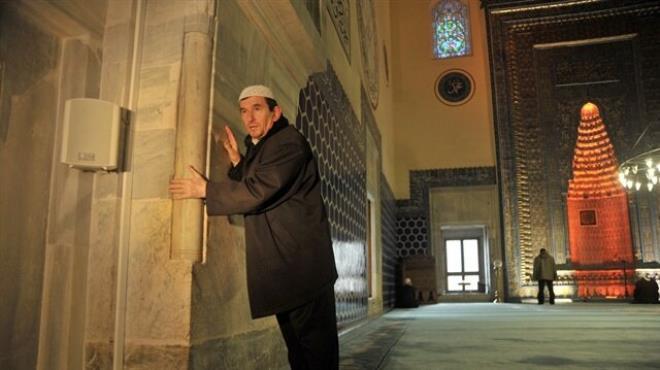 Camideki deprem terazisini dilek taşı sanıyorlar