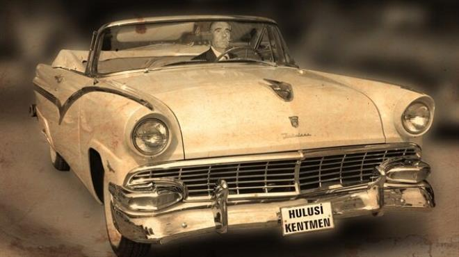 Kentmen 1956 model aracıyla gelecek