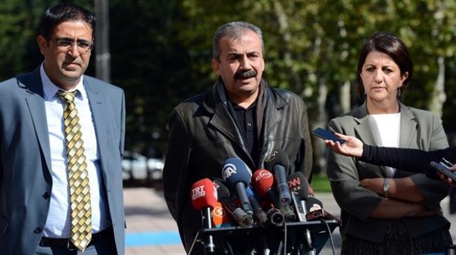 HDP heyeti: Anlamlı müzakerelerin önünde engel yok